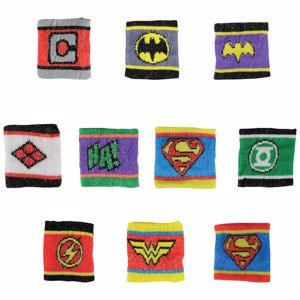 Picture of DC Comics Logo Wristbands