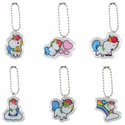 Picture of Unicorn Puffy Pendant Key Chains