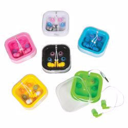 Picture of Colored Earbuds with Case