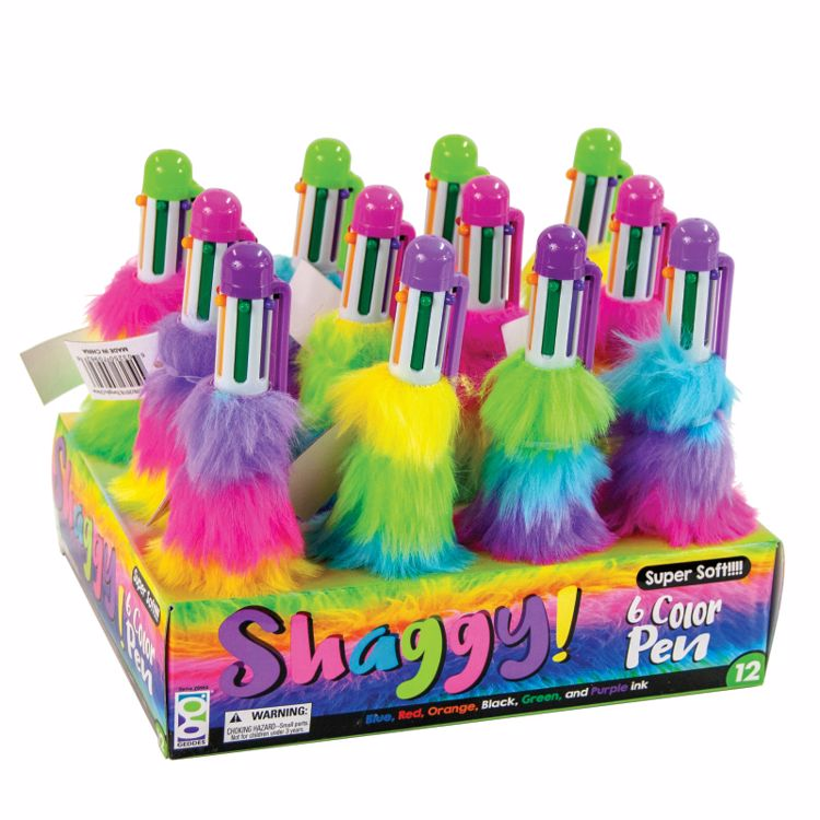 Picture of Shaggy 6-Color Pens
