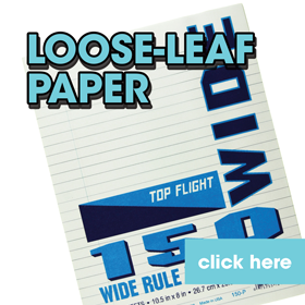 Picture for category Loose-Leaf Paper