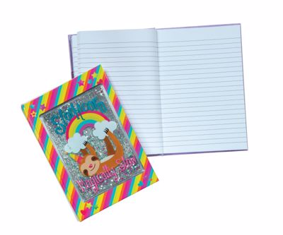 Picture of Slothicorn Glitter Cover Journal