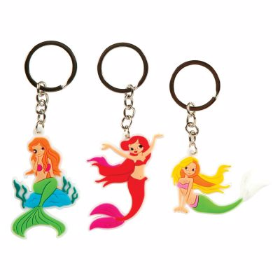 Picture of Laser Cut Mermaid Keychain
