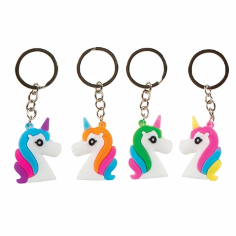 Picture of Unicorn Head 3D Keychain