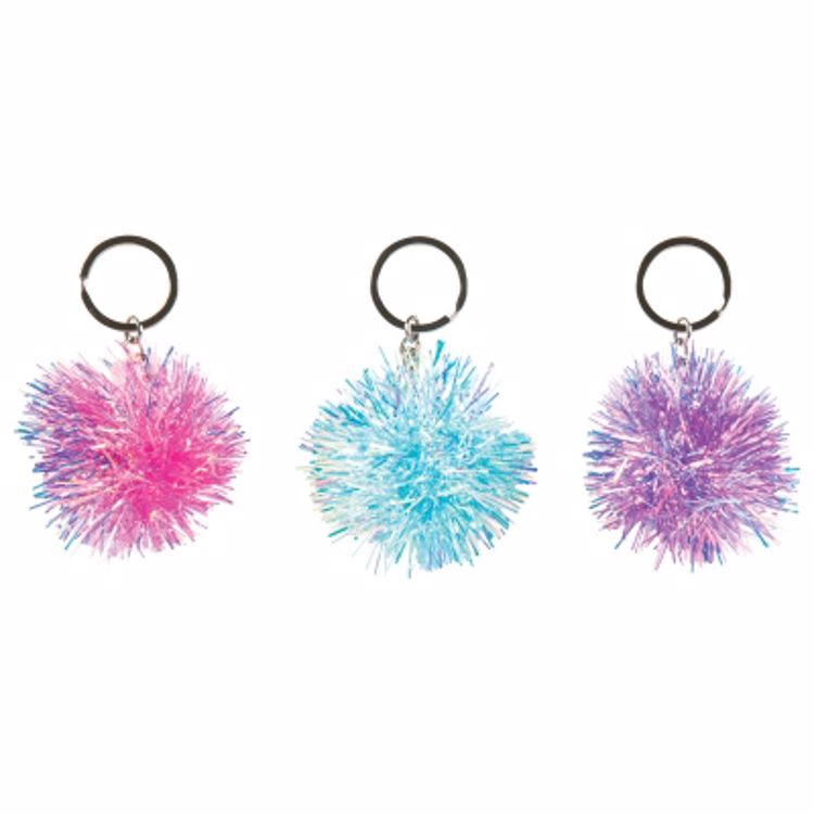 Picture of Fireworks Puff Keychain