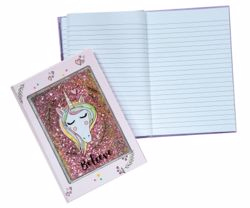 Picture of Unicorn Glitter Cover Journal