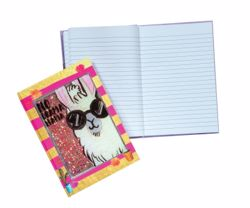 Picture of Llama Glitter Cover Journal