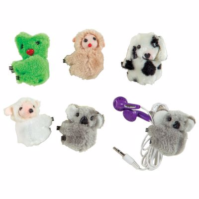 Picture of Clip On Cuddles Plush Animal Clips