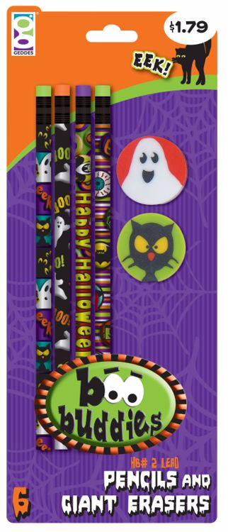 Picture of Boo Buddies Pencils
