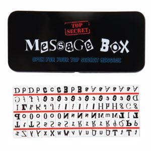 Picture of Top Secret Magnetic Message Spy Boxes