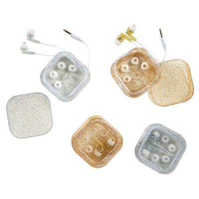 Picture of Glitter Earbuds With Case