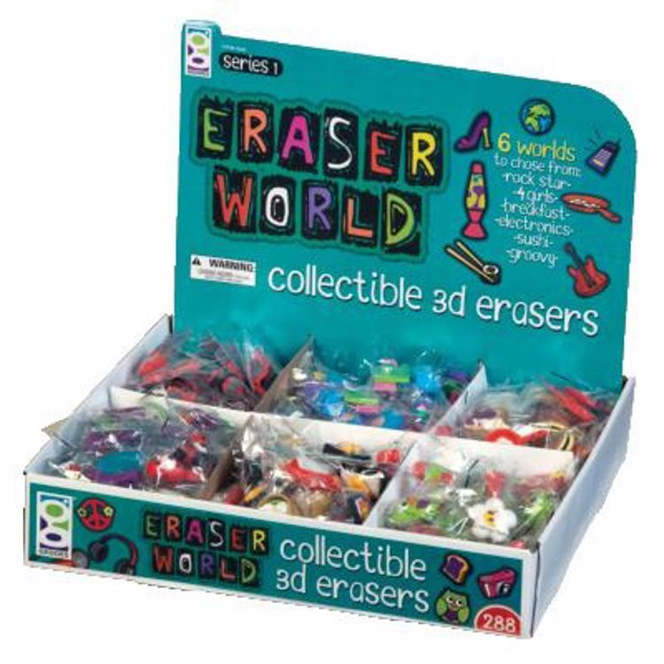 Picture of Eraser World 3D Eraser Assortment