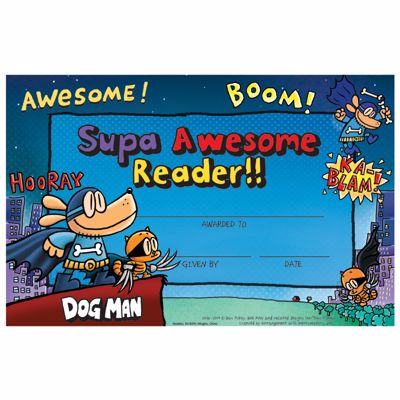 Picture of Dog Man Certificates