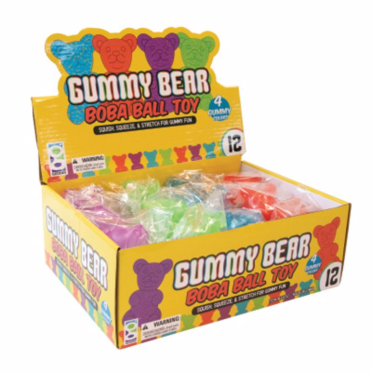Picture of Gummy Bear Boba Ball Toy