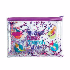 Picture of Mermaid Trendy Glitter Pencil Pouch