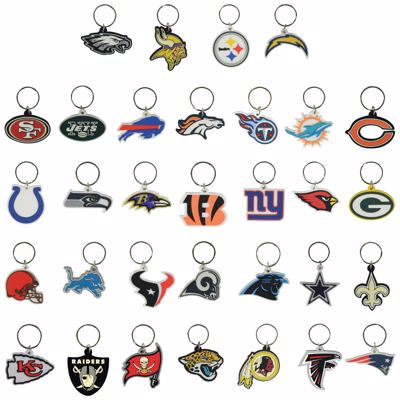 Picture of NFL Soft Keychains