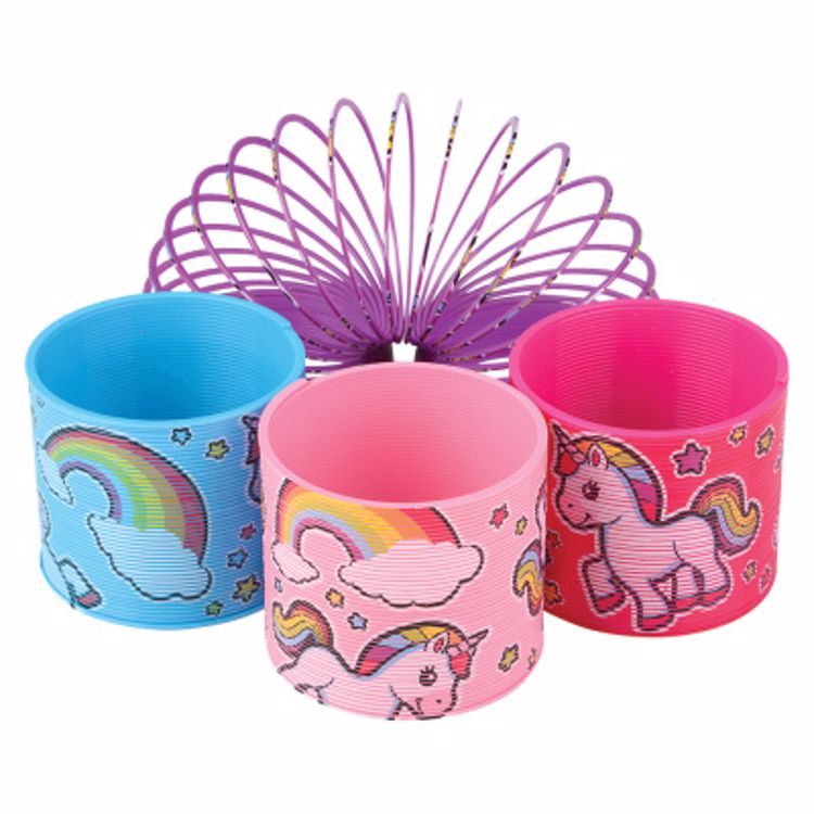 Picture of Unicorn Coil Spring Toy