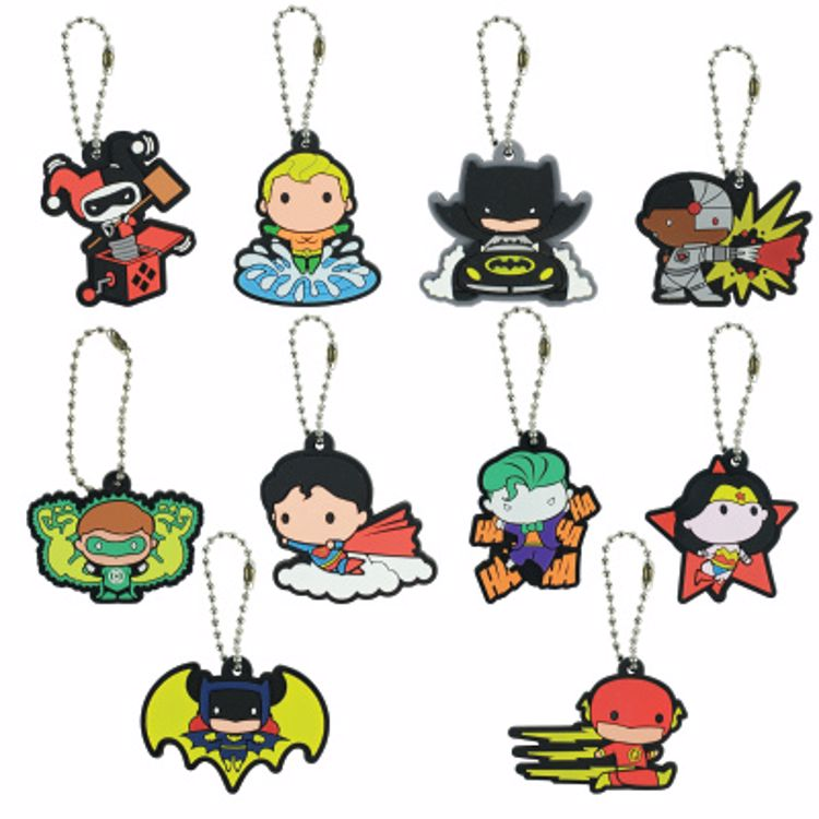 Picture of DC Comic Chibi Keychain