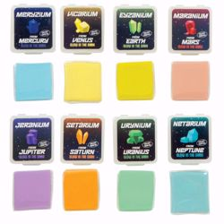 Picture of 2ct. Galaxy Glow Kneaded Erasers