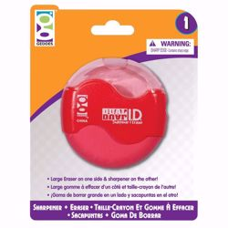 Picture of 1ct. Dual ID Sharpener Eraser