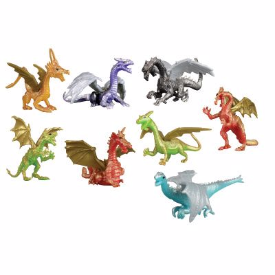 Picture of 10ct. Dragon Figures