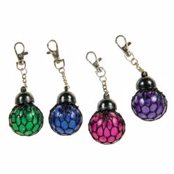Picture of Sparkle Mesh Boba Keychain