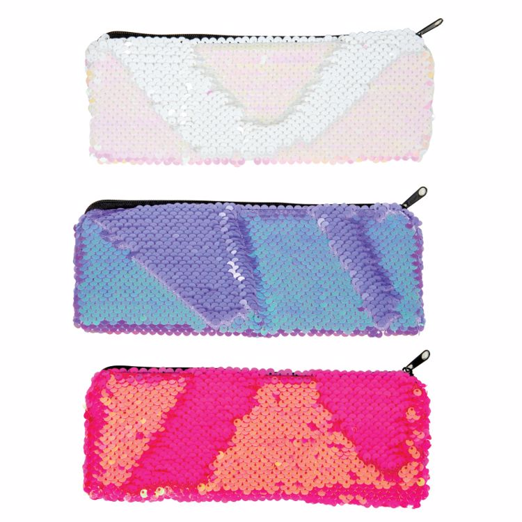 Picture of Neon Marmaid Scales Pencil Pouch