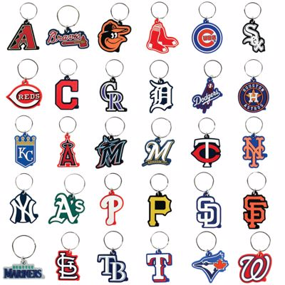 Picture of MLB Soft Keychains