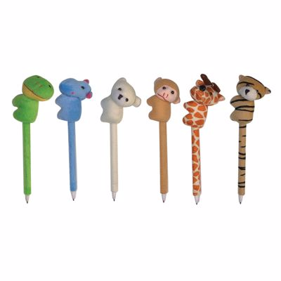 Picture of Wild Ones Cuddle Plush Pens
