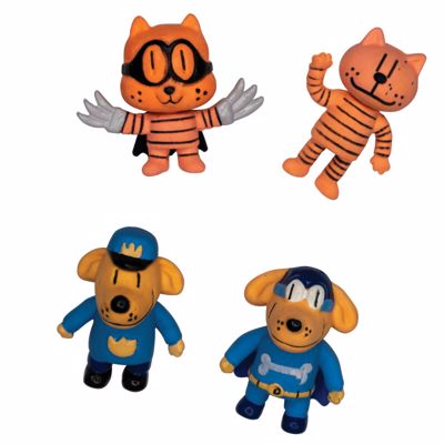 Picture of Dog Man 3D Puzzle Erasers