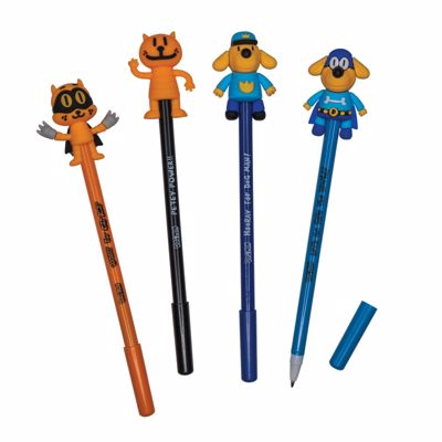 Picture of Dog Man Character Pens