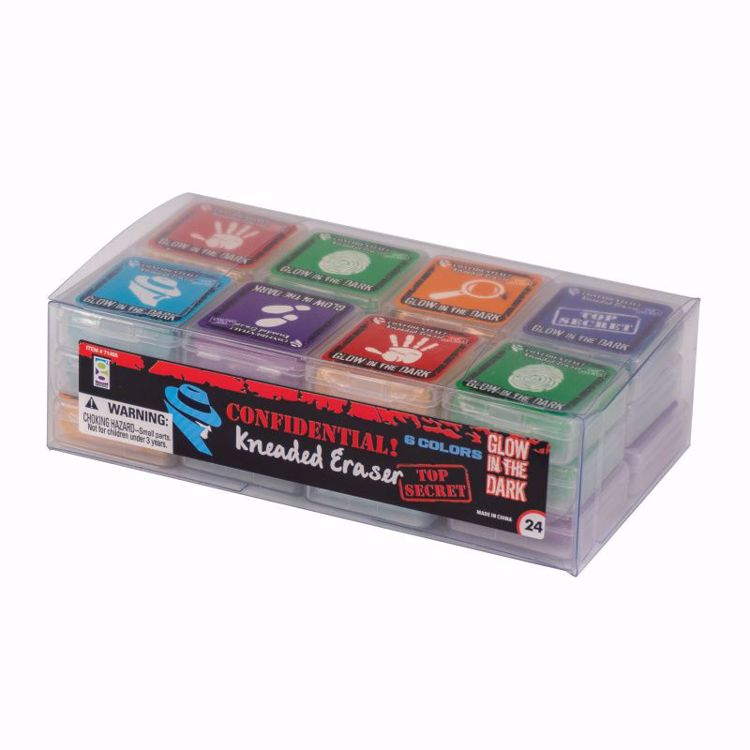 Picture of Confidential Spy Kneaded Erasers