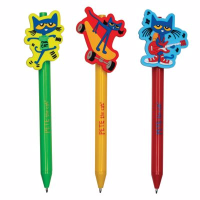 Picture of Pete The Cat Character Pens