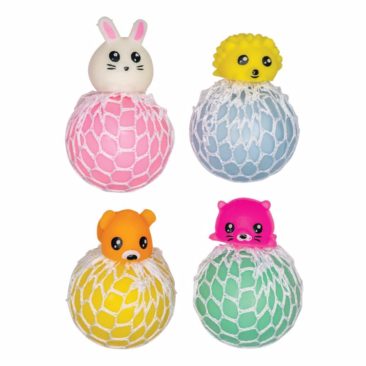 Picture of Animal Mesh Squeeze Balls