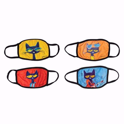 Picture of Pete The Cat Face Masks