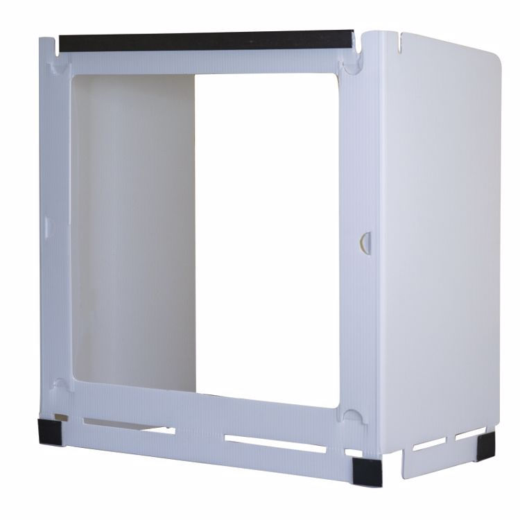 Picture of Deluxe Plastic Desk Shield With 1 Window