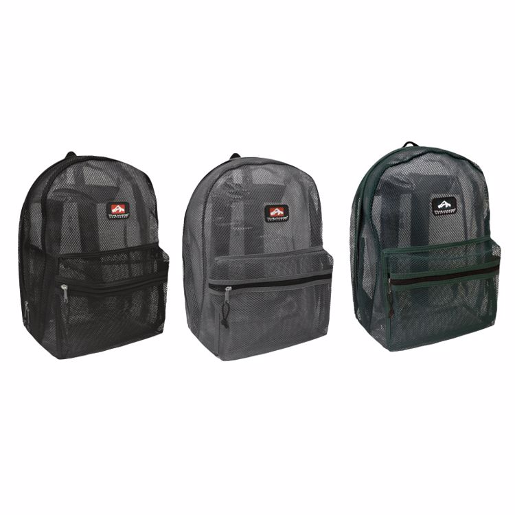 Picture of Mesh Backpacks (6 Pack)