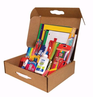 Picture of 6 Ct. Geddes Elementary School Supply Kit