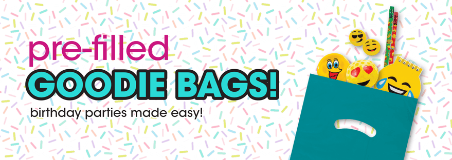 Pre-filled goodies bags to make your next party a hit!