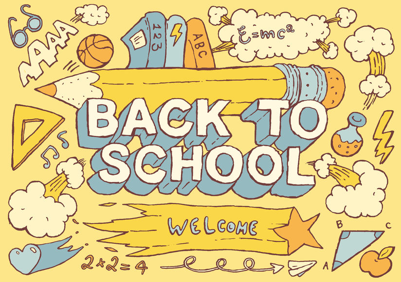 Welcome back to school. Responsibilities for a new school year.