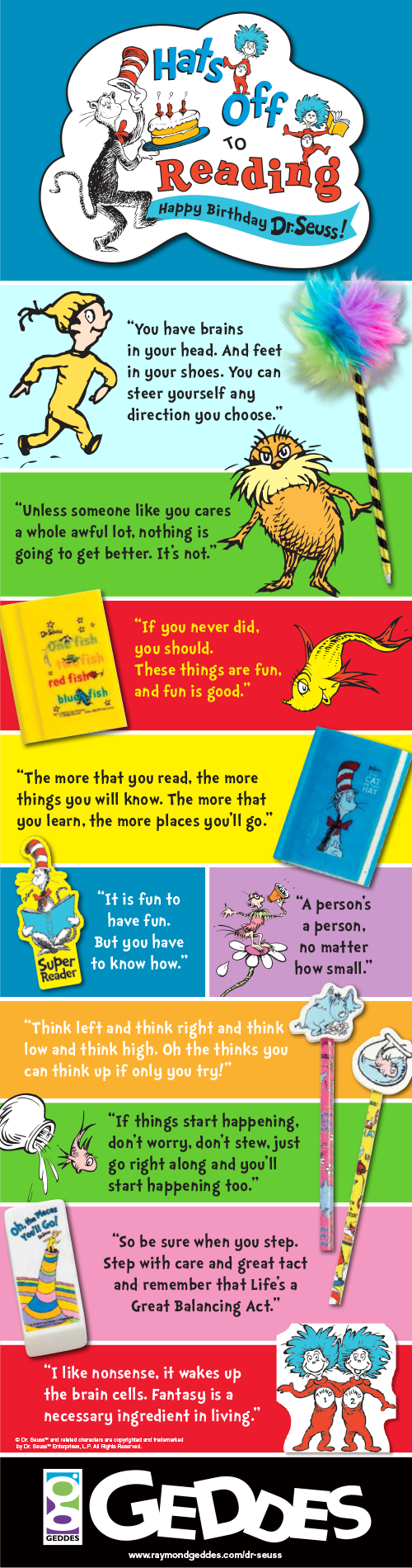 10 Inspiring Dr. Seuss Quotes