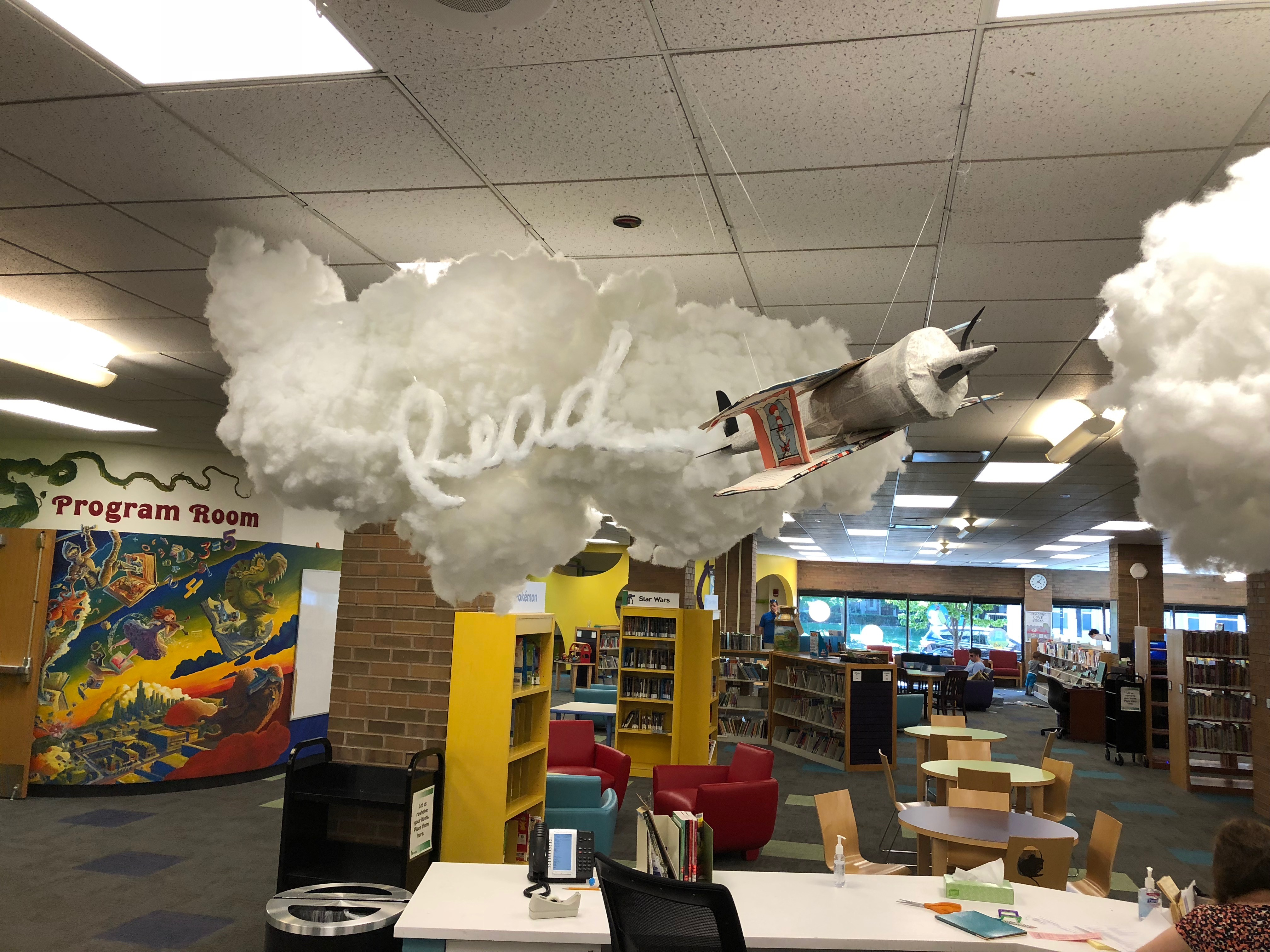 Inside Downers Grove Public Library 1