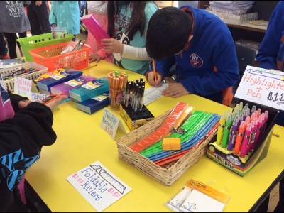 School Store at Harbor Hill Elementary