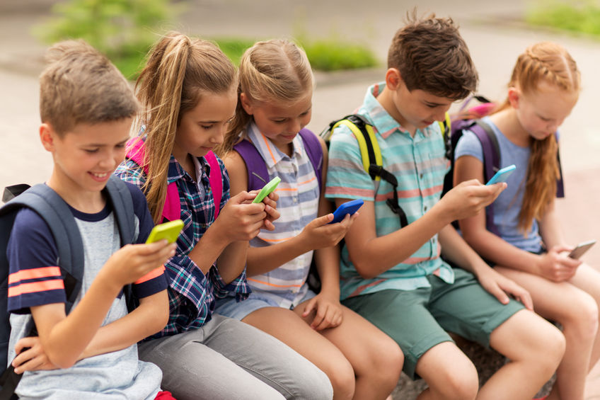 Kids and cell phones? Good idea?