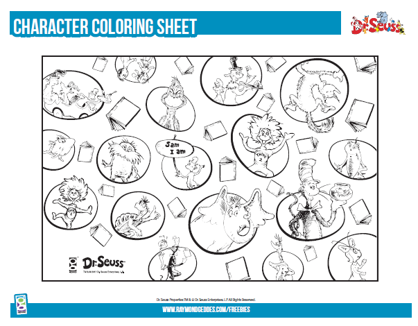 picture about Cat in the Hat Printable Activities titled Dr. Seuss Printable Things to do Retail outlet GEDDES