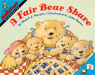 The cover of the book, A Fair Bear Share