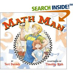 Math Man by Teri Daniels.
